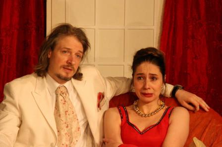 Antoine dans Treize à table (2010), avec Marie Burvingt en Madeleine