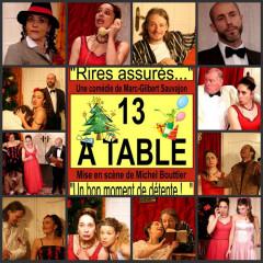 13 à table à l'Espace Marais